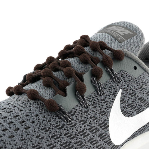 Chocolate Brown Caterpy Laces