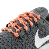 Orange Grey Caterpy Laces