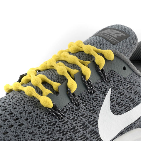 Lemon Yellow Caterpy Laces