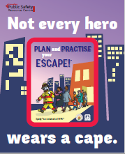 NFPA Not Every Hero Wears a Cape – Canadian Edition Magnets
