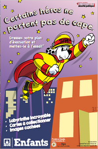 NFPA Not Every Hero Wears a Cape – Canadian Edition Kids Activity Book / Édition Canadien Livres D'activité - CanOps
