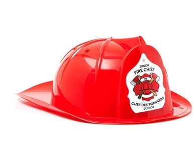 Children's Red Fire Hats (Junior Fire Chief) - CanOps