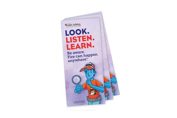 """Look. Listen. Learn."" Brochures"