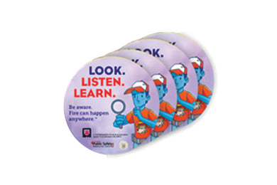 """Look. Listen. Learn."" Stickers"
