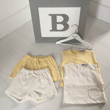 Babidu Towelling Short Sleeve Short Set