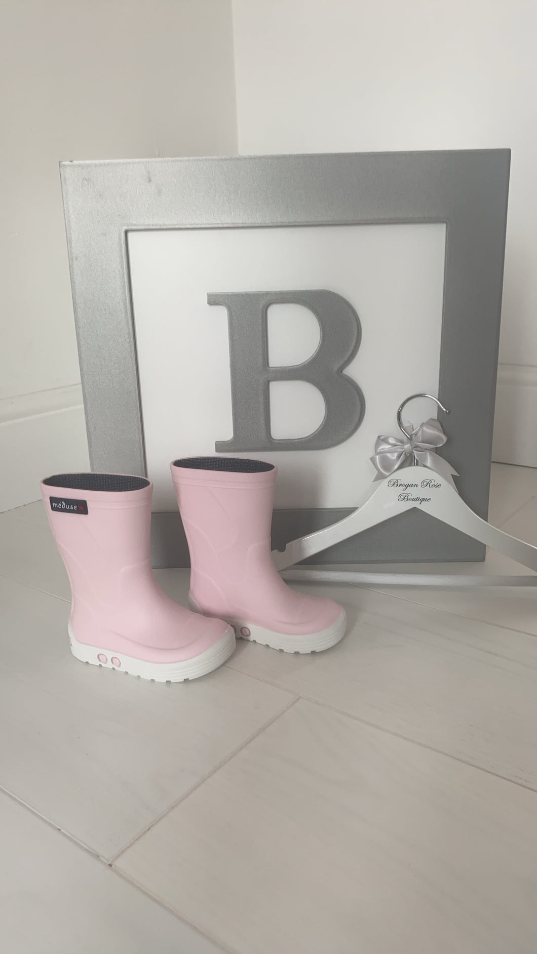 Meduse Baby Pink Wellies