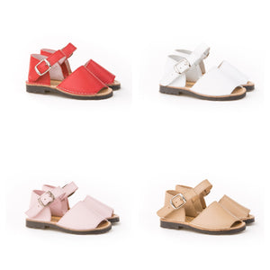 PRE ORDER Angelitos Leather Sandals