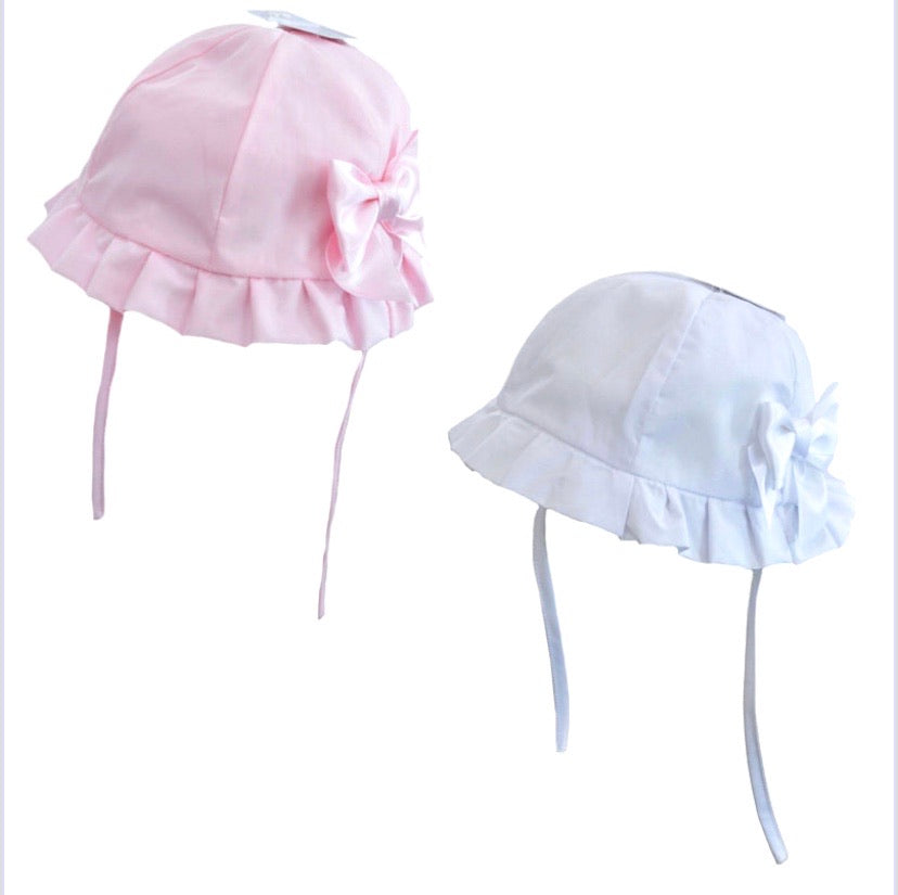 Girls Summer Bow Hats