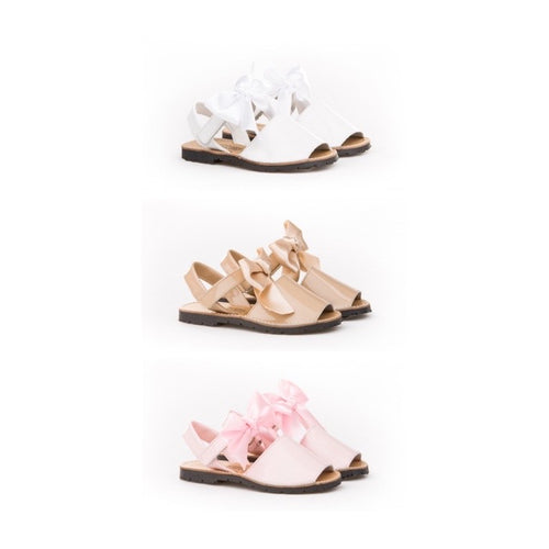 PRE ORDER GIRLS ANGELITOS BOW SHOES