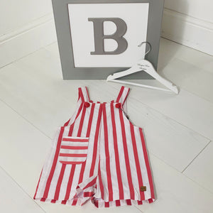 Jose Varon Stripe Dungaree
