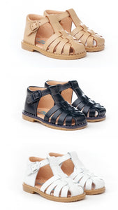 PRE ORDER - Strap leather Angelitos sandals
