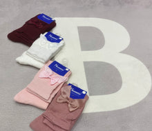 Bow Knee High Socks - junior