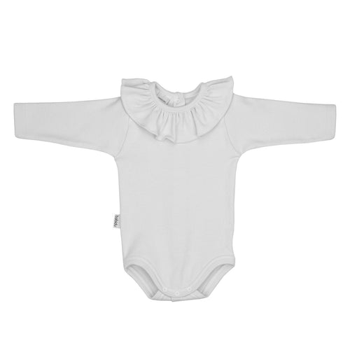 Frill Long Sleeve Babidu Bodysuit