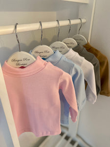 Basic Cotton Roll Necks