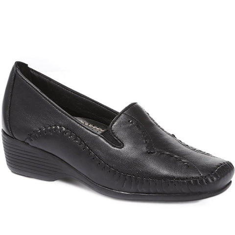Leather Slip On Shoe - NAP24009 / 308 415 Leather Slip On Shoe