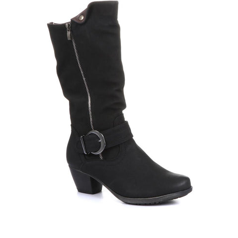 Lightweight Calf Boot with Buckle - SIN26001 / 310 596 Lightweight Calf Boot with Buckle