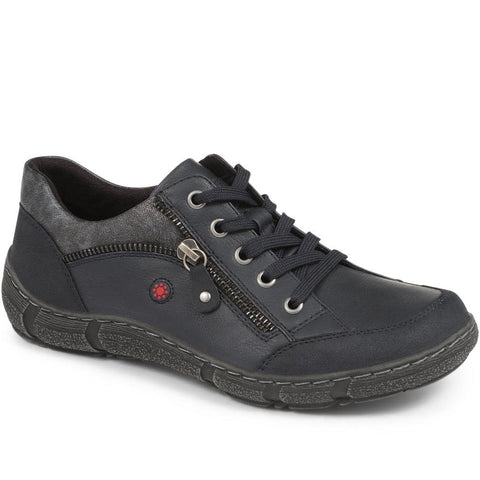 Wide Fit Casual Lace Up Shoe - CENTR24009 / 308 259 Wide Fit Casual Lace Up Shoe