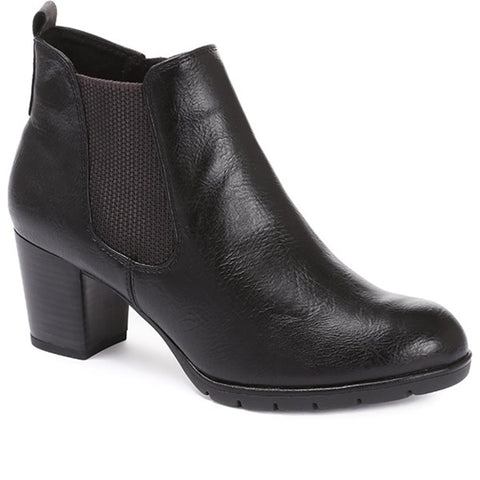 Heeled Chelsea Ankle Boot - WEN30502 / 316 132 Heeled Chelsea Ankle Boot