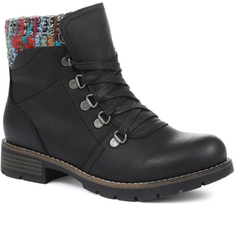 Black Ladies Ankle Boots