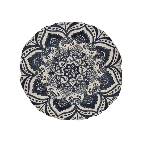 Black Mandela Roundie Cushion