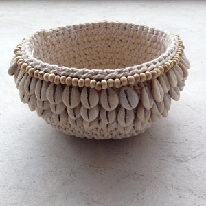 Shell Macrame Marimar Pot Holder