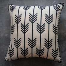 Black Tribe Arrow Cushion