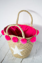 You're a Star Bag with Pink Pom Poms