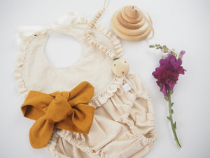 Mustard Top Knot Headband