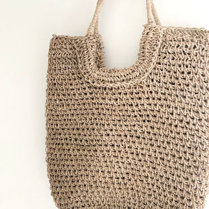 Bruna Natural Tote Bag