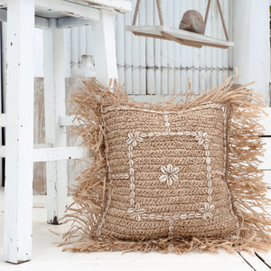 Bermuda Raffia Cushion by NMP