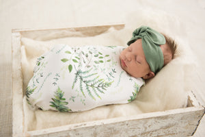 Enchanted Baby Wrap / Blanket & Beanie