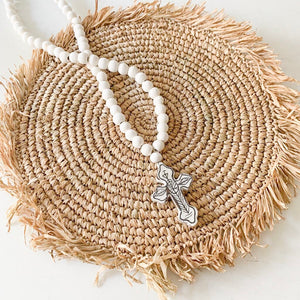 Saniya Cross Tassel