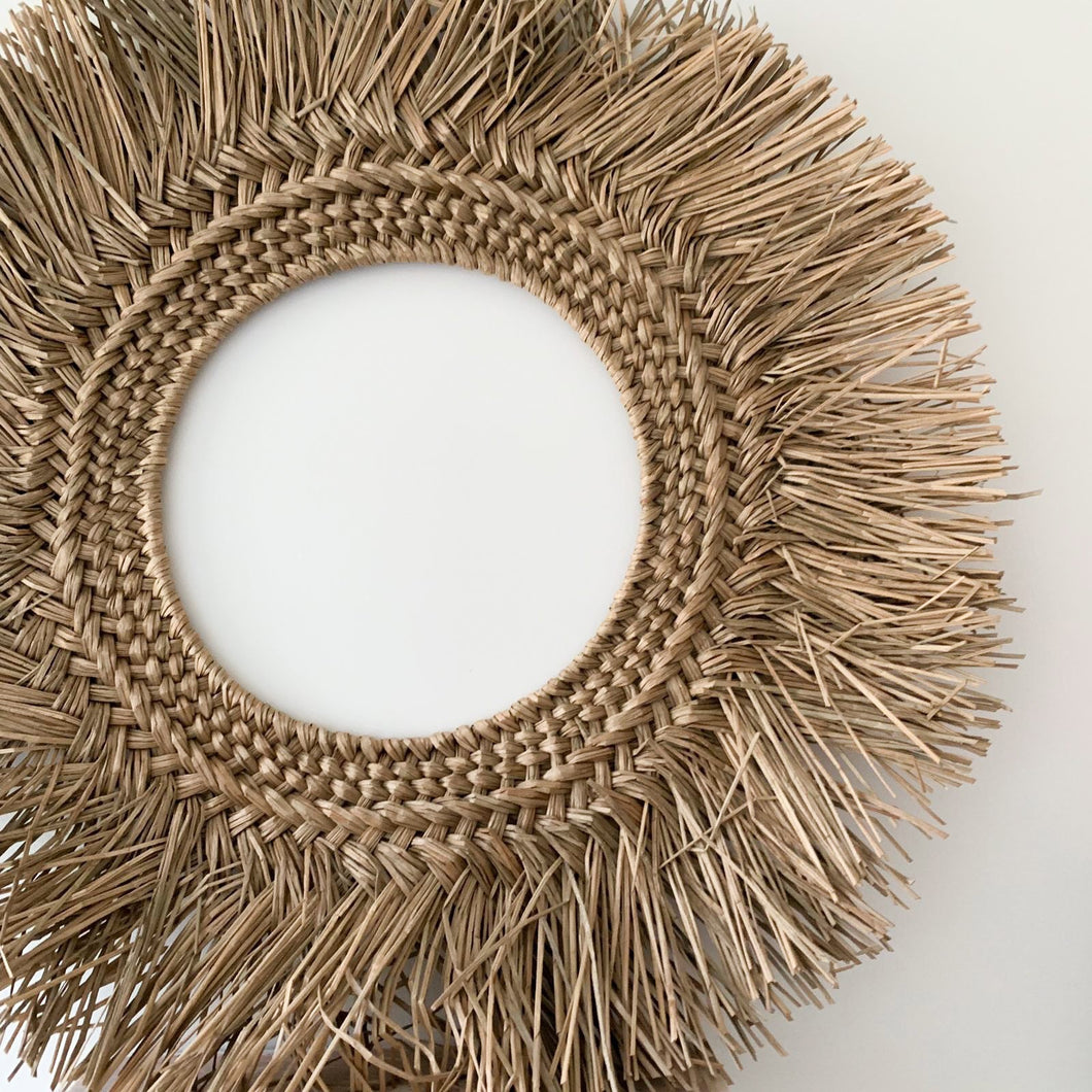 Asha Halo Seagrass Wall Hanging