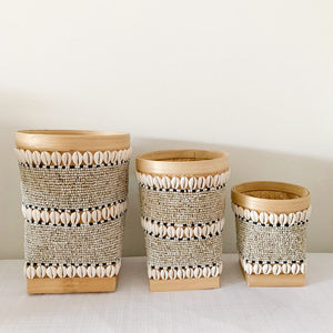 Oklei Beaded Baskets