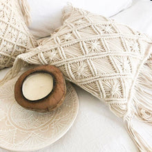 Lux Macrame Cushion Cover