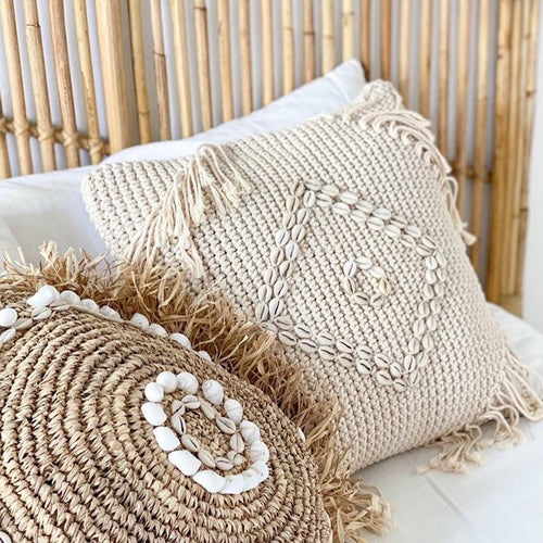 LUANA Macrame Cushion by NMP