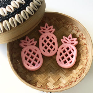 Silicone Pineapple Teether - Pink