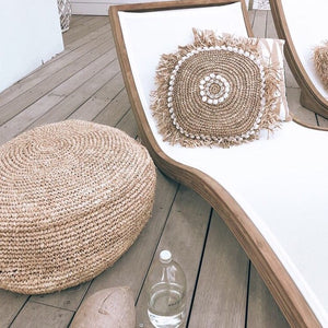 COVE Raffia Roundie Cushion by NMP