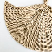 Rattan Fan Wall Decor