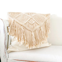 Mali Macrame Cushion