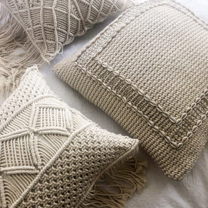 Manhattan Cushion Cover in Natural