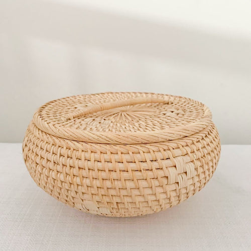 Echo Rattan Canisters