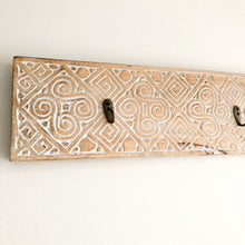 KARA Handcarved Timber Wall Hook
