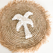 Palm Tree Shell Wall Hanging [Small]