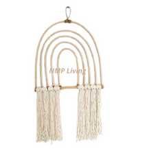 Dixie Rattan Rainbow Wall Hanging