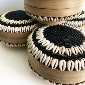 Bambu Shell Round Box