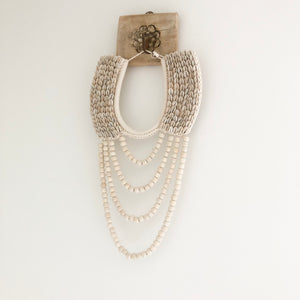 Oda Shell Necklace Wall Hanging