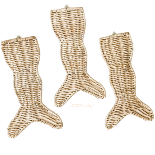 Rattan Mermaid Tail