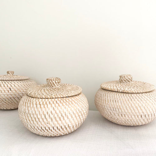 Nyla Rattan Canister