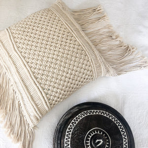 Roxie Macrame Cushion Cover